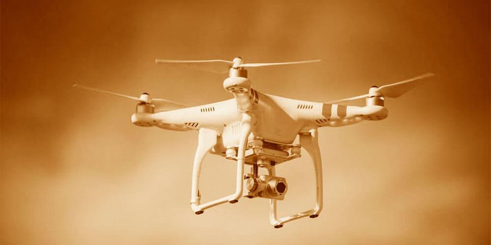 inspeção com drone